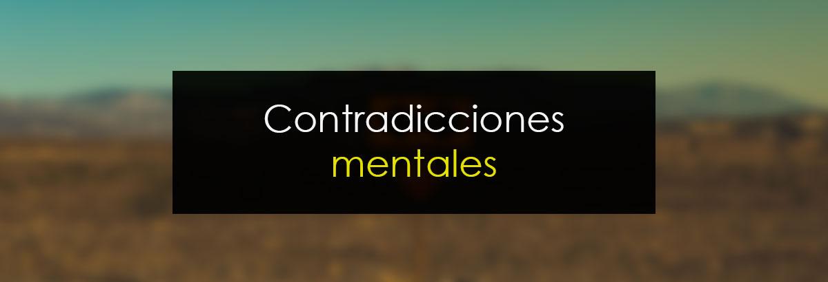 Contradicciones mentales