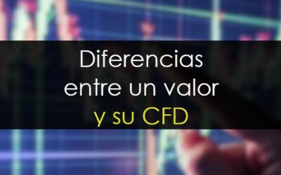 Diferencias entre un valor y su CFD