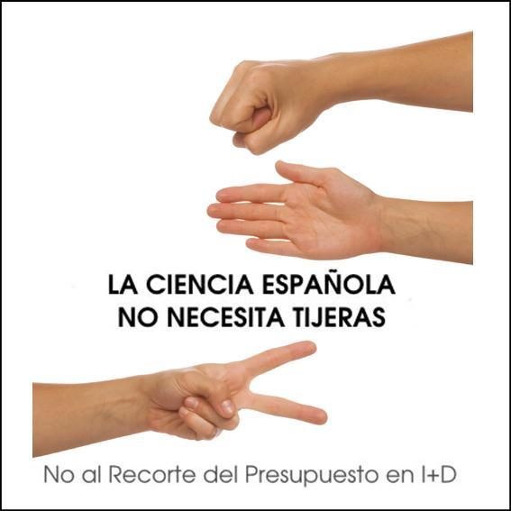 La ciencia en España no necesita tijeras…