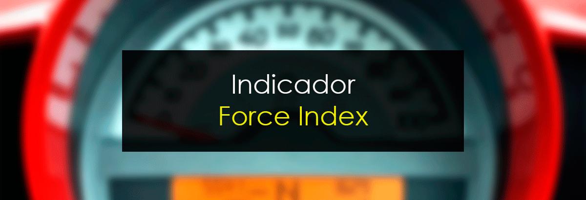 Indicador de trading Force Index