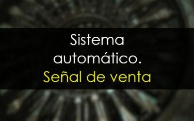 OHL. Sistema automático: Señal de venta.