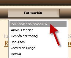 Nueva sección: Independencia financiera