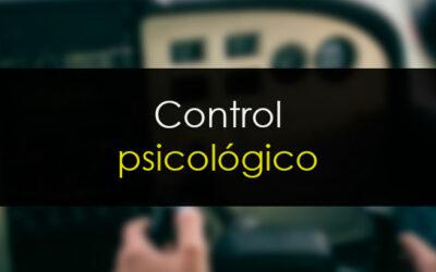 Control psicológico: El ingrediente más importante