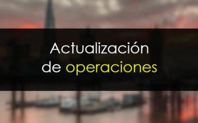Rápida actualización de operaciones: