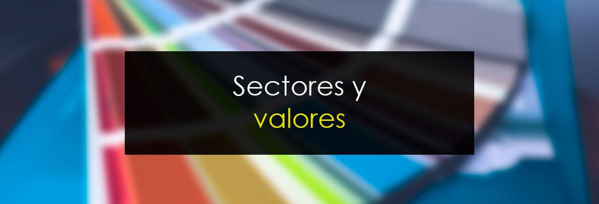 Sectores y valores