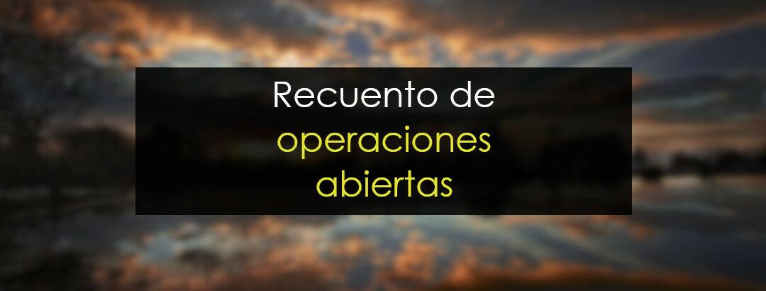 Repaso de las operaciones abiertas
