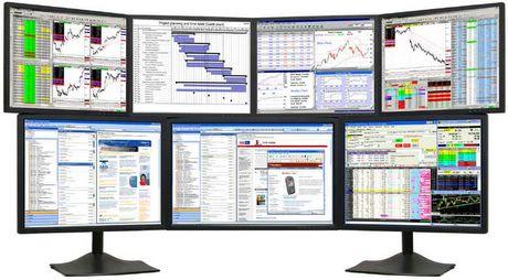 Entorno gráfico de trading