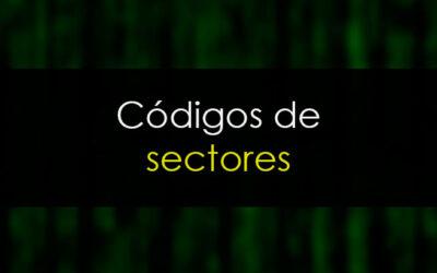 Códigos de sectores europeos