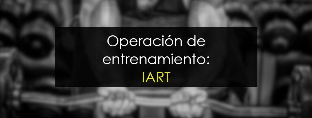 IART (NASDAQ) Operación de entrenamiento