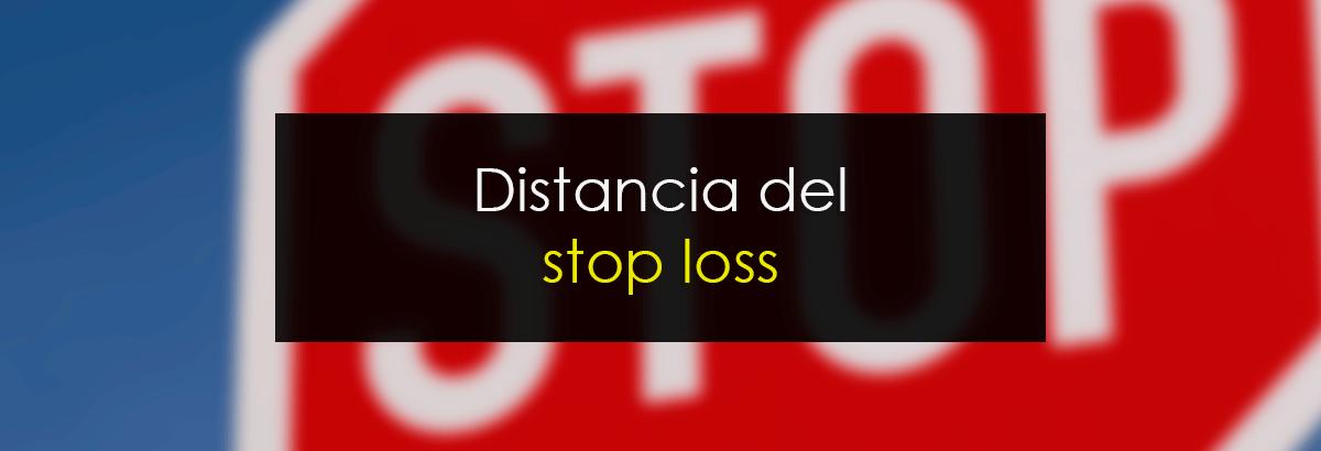 Distancia del stop loss