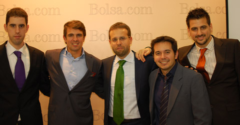 Invertir en Bolsa, Ricardo, David, Jesús, Javier y Uxío