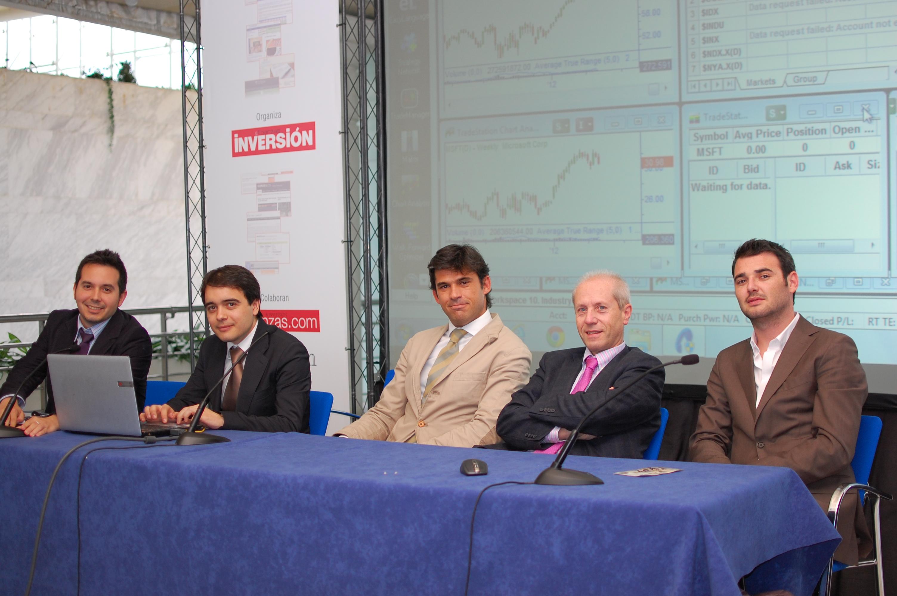 Javier Alfayate, MarcRibes, José Luis García, Luis Ortiz de Zárate, Andrés Jiménez
