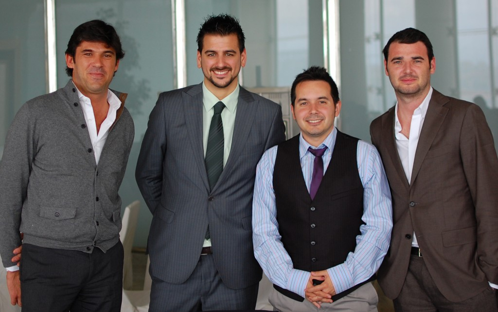 José Luis García, Yo (Uxío Fraga), Javier Alfayate, Andrés Jiménez