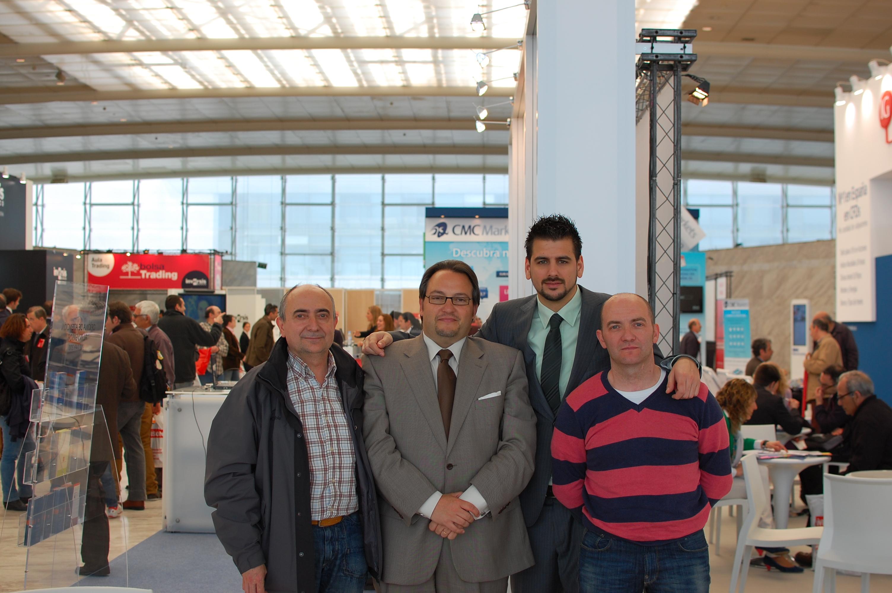 Ángel, Juanjo, Uxío, Miguel