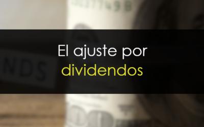 Ajuste por dividendos: El efecto en los gráficos