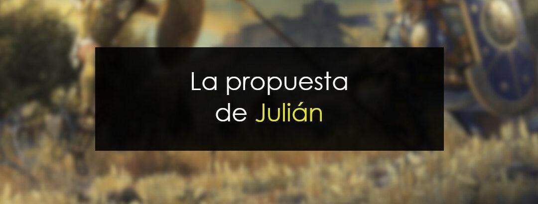 La propuesta de Julián