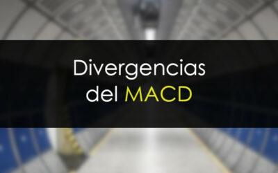 Divergencias de MACD a medias
