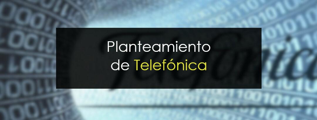 La propuesta de Rubén: Telefónica