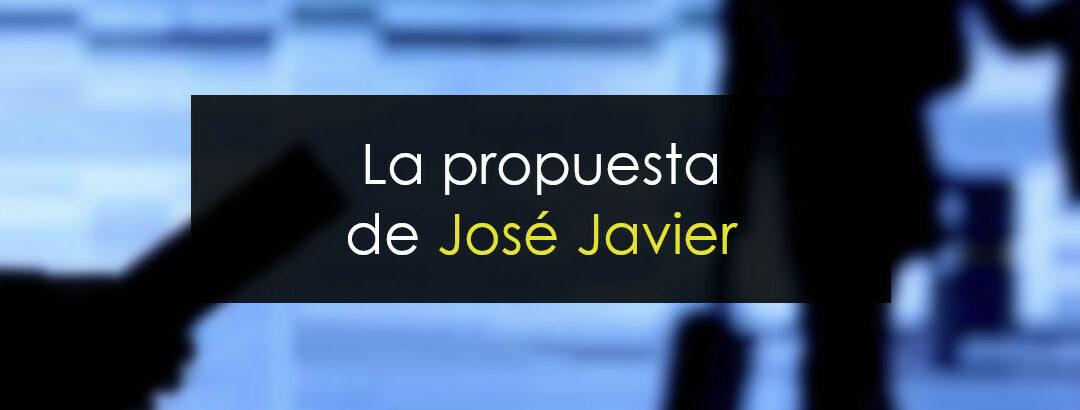 Analizando la propuesta de José Javier