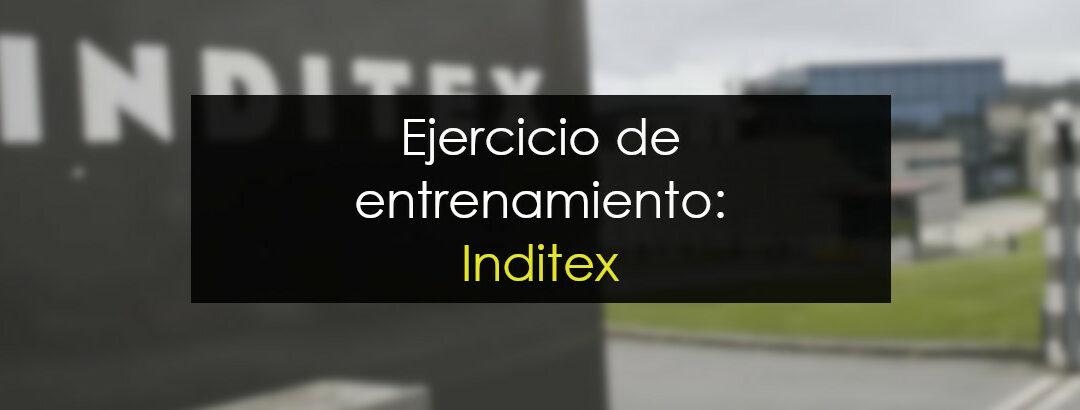 Operación de entrenamiento ¿Compramos Inditex?