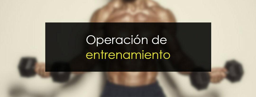 Operación de entrenamiento: Atentos