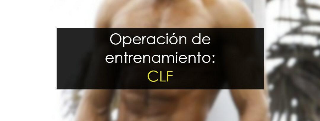 Operación de entrenamiento: CLF