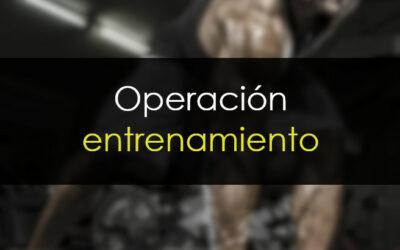 Operación entrenamiento