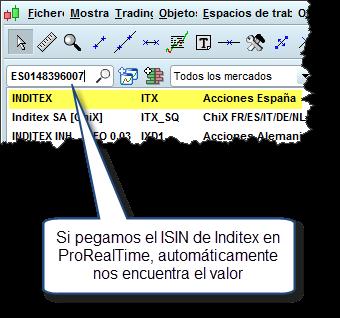 Trading con Inditex