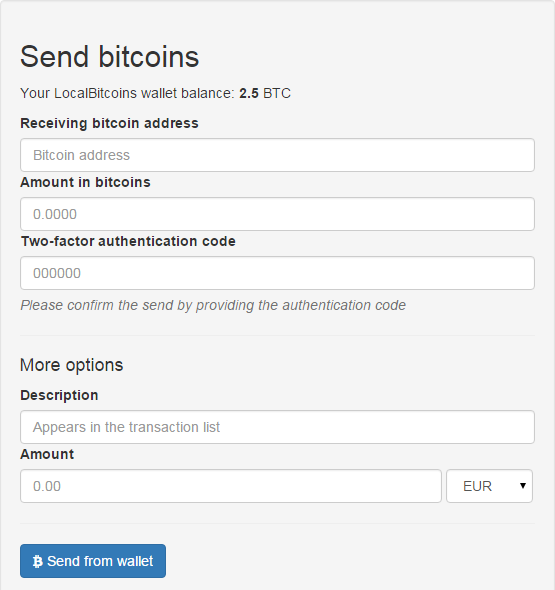 transferir bitcoins 1