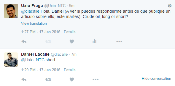 trading crude oil daniel lacalle
