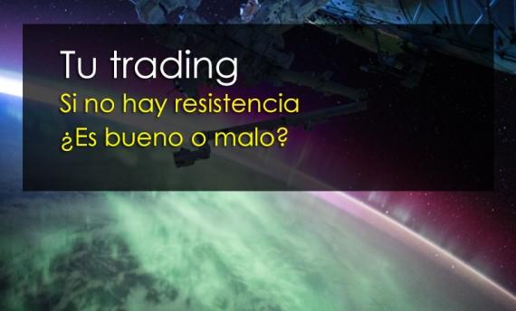 tu trading sin resistencia
