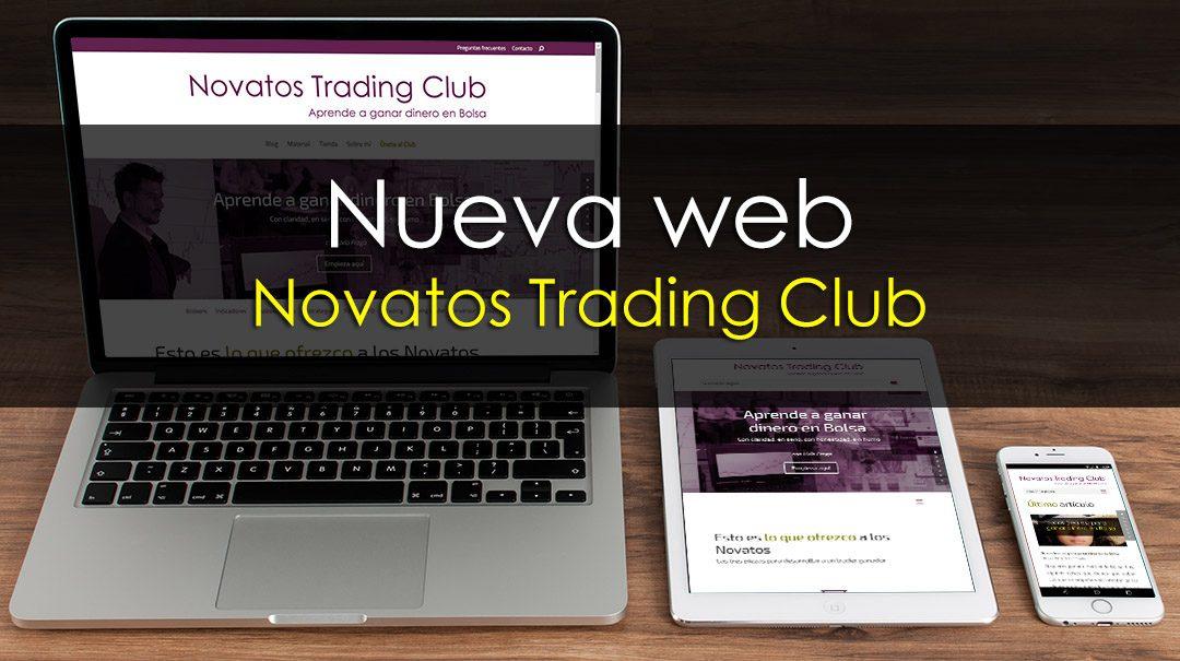 ¡Nueva web! Novatos Trading Club 3.0 ya es una realidad
