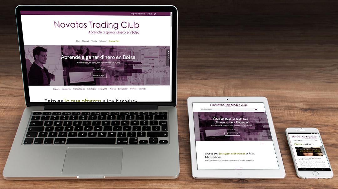 novatos trading club responsive