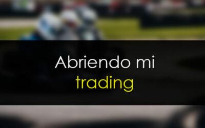 Abriendo mi trading al público