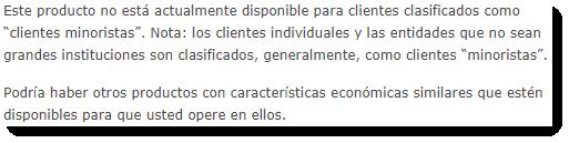 IB interactive brokers etf mensaje error español