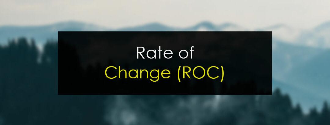 Trading con el indicador ROC