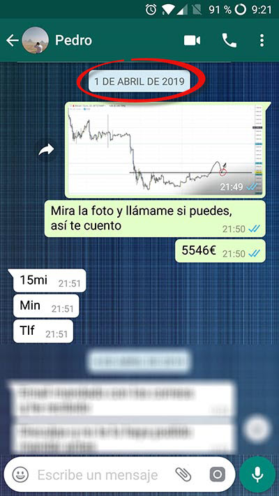 bitcoin trading whatsapp novatos