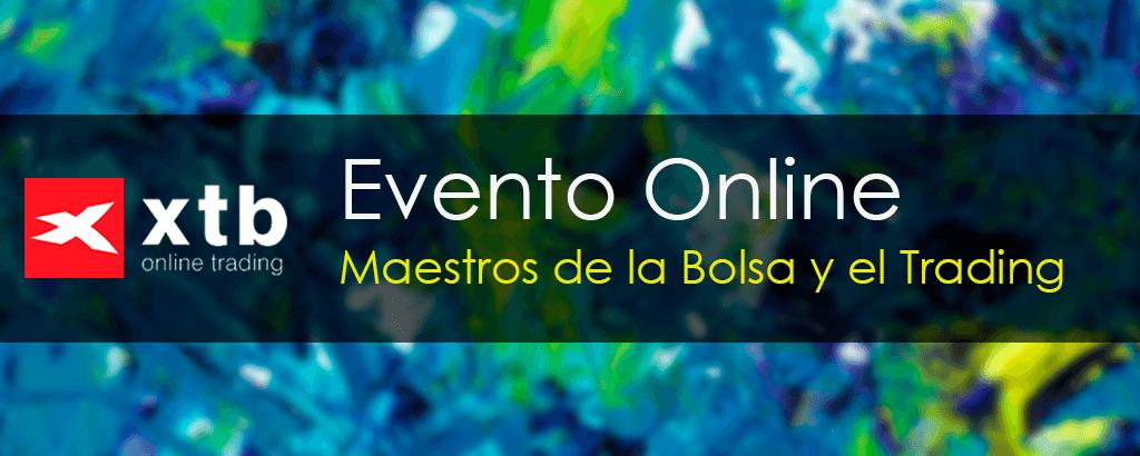 Evento online sobre trading y Bolsa