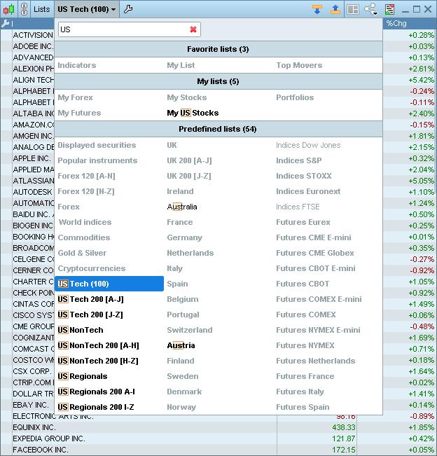 menus desplegables curso de trading cuando vender