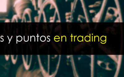 Pips, ticks y puntos en trading