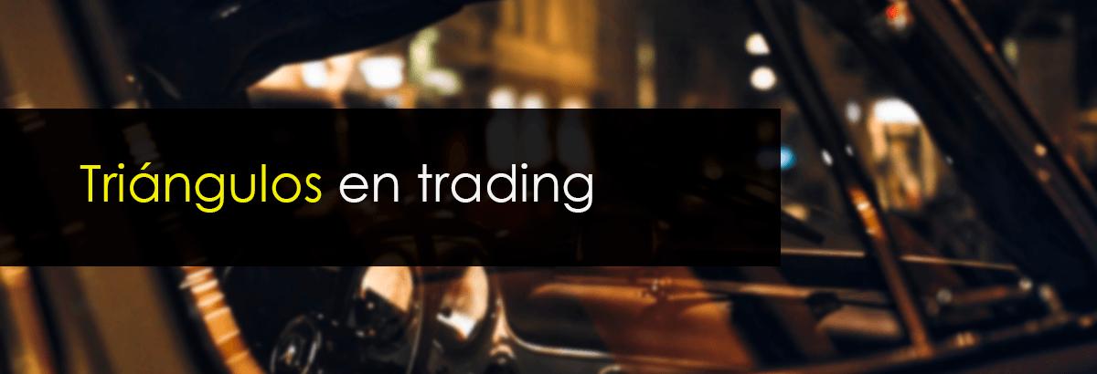 triangulos en trading