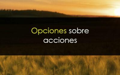 Opciones sobre acciones