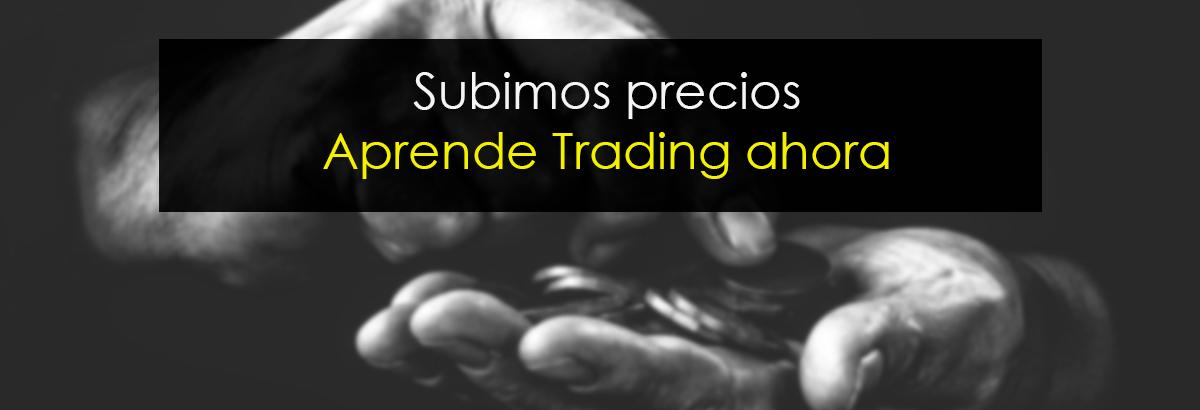 aprende trading precios
