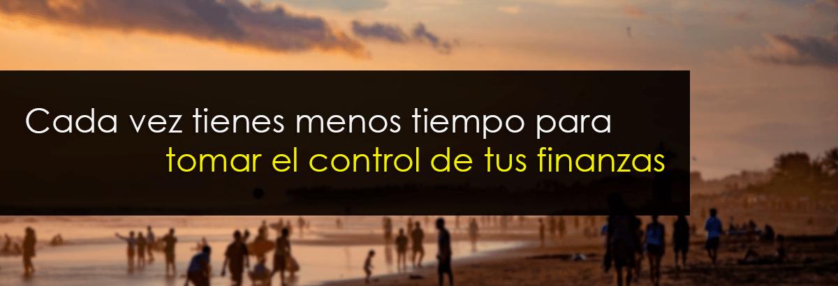 control finanzas tiempo
