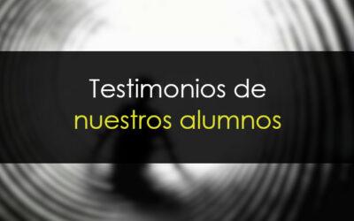 Testimonios de nuestros alumnos
