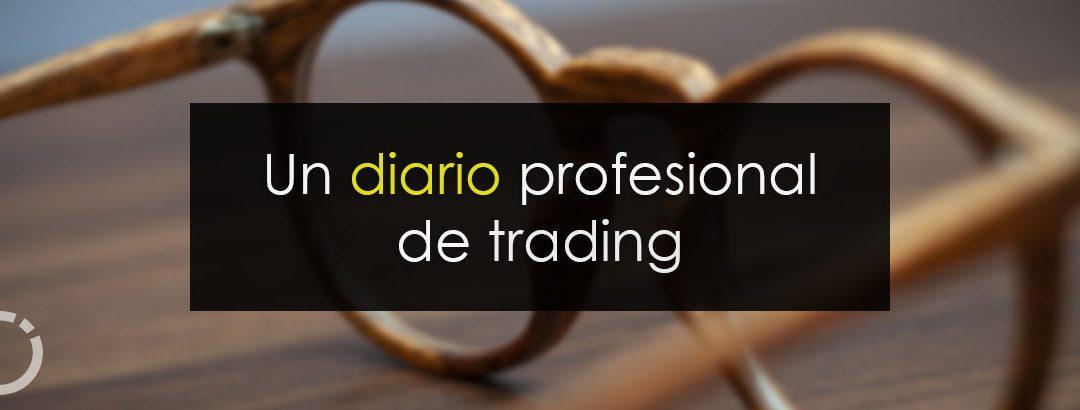Un diario profesional de trading
