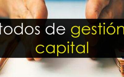 Métodos de gestión de capital