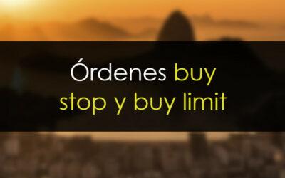 Órdenes buy stop y buy limit