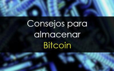 Cómo almacenar bitcoin: consejos