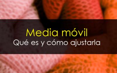 Media móvil en trading: Qué es y cómo ajustarla